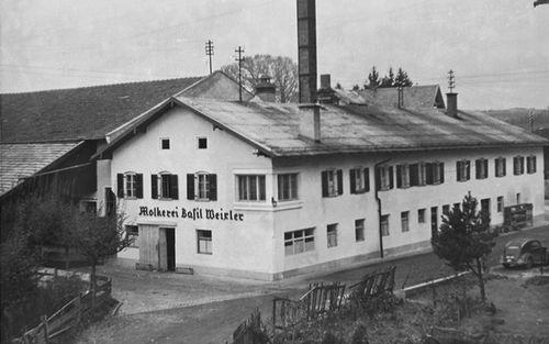 5 Die Molkerei Basil Weixler In Waging Vor 1945 Jpg