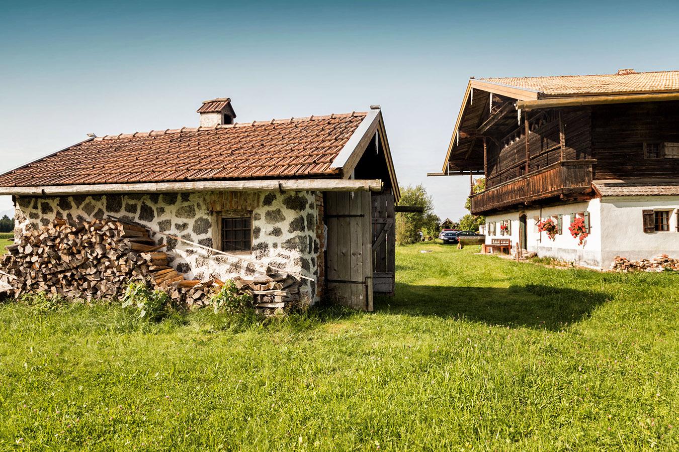 Historischer Backofen im Rupertiwinkler Bauernhofmuseum