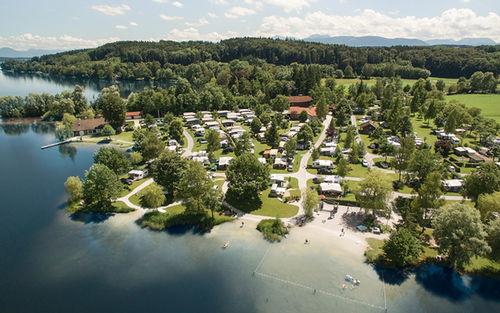 Camping Schwanenplatz Luftperspektive