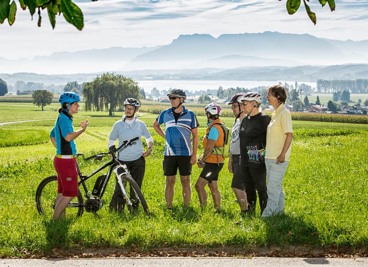 Hofladen Radtour mit Regina Faltermeier