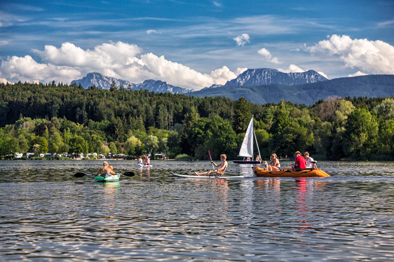 Wasserparadies Waginger See