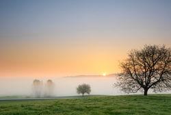 Sonnenaufgangregionwagingersee
