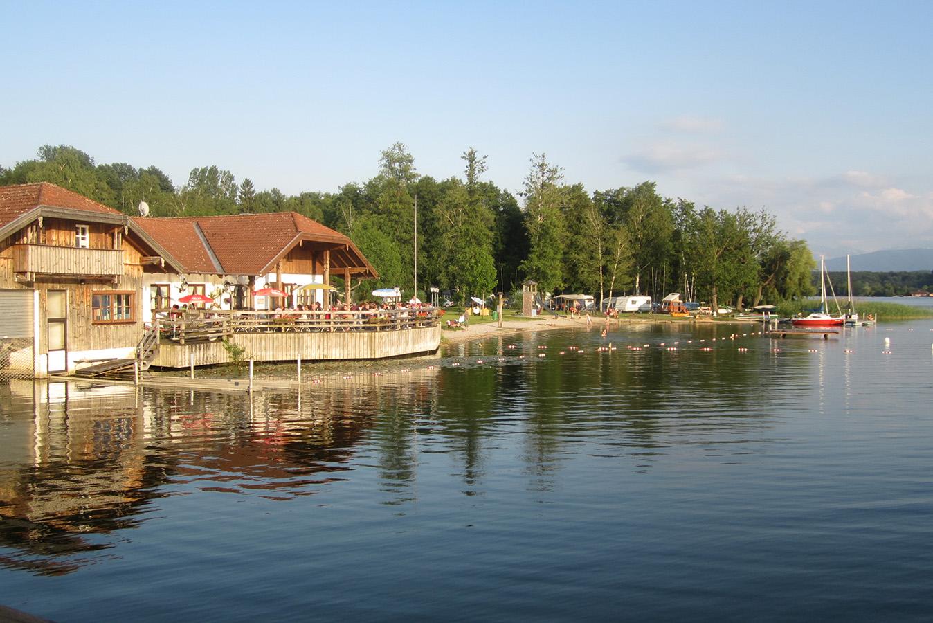 Campingplatz Tettenhausen von Seebrücke