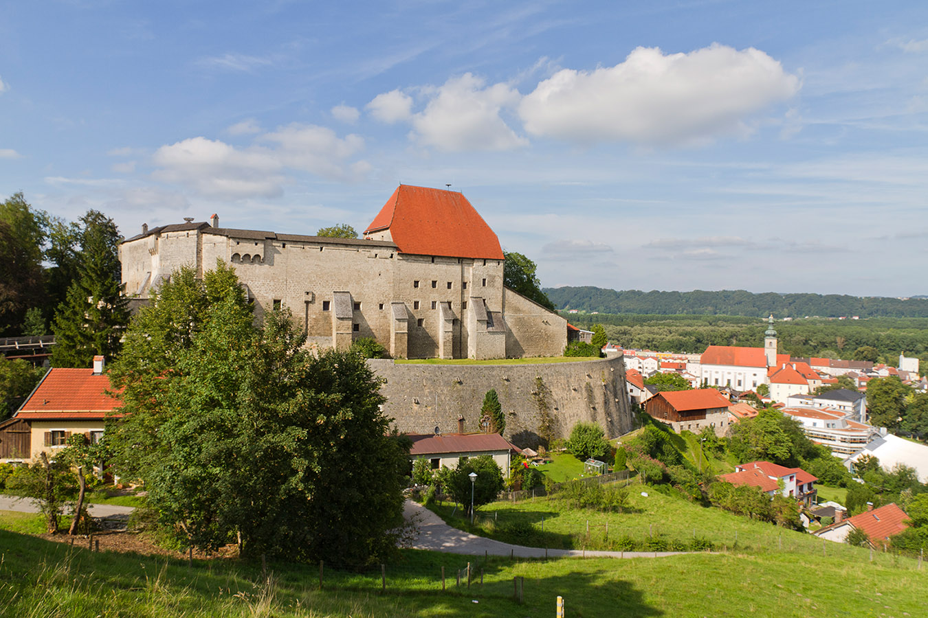 Tittmoning Burg und Altstadt